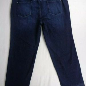 INC International Concepts Jeans - INC Womens Tummy Control Jeans Size 28W Mid Rise